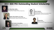 IEEE PES Outstanding Student Scholarship-PES Awards Ceremony 2021