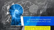 A Discussion of Approaches to Quantum-Resistant Cryptography