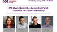 RAS Student Activities Committee Panel: Transition to a Career in Industry